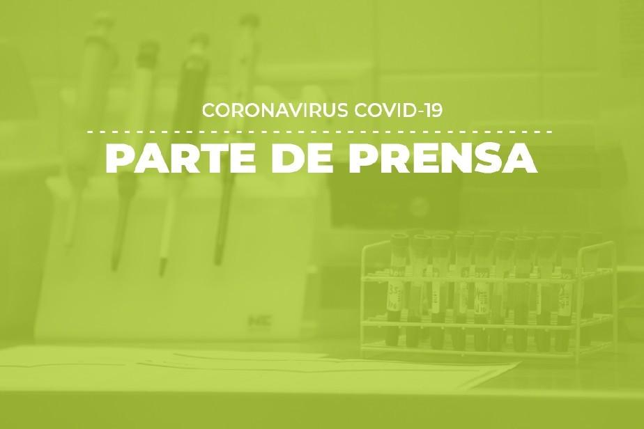COVID-19: Parte de prensa (14/10)