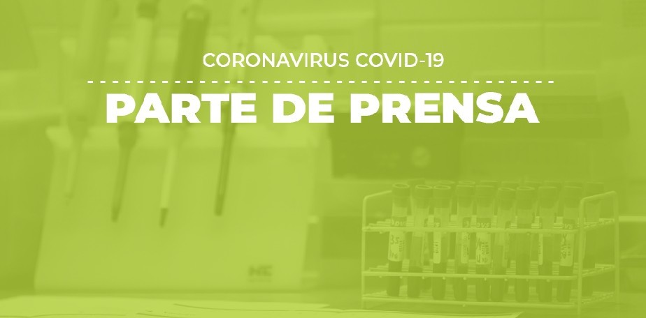 COVID-19: Parte de prensa (13/09)