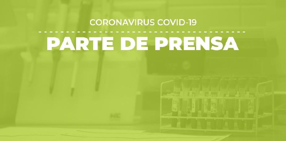 COVID-19: Parte de prensa (14/09)