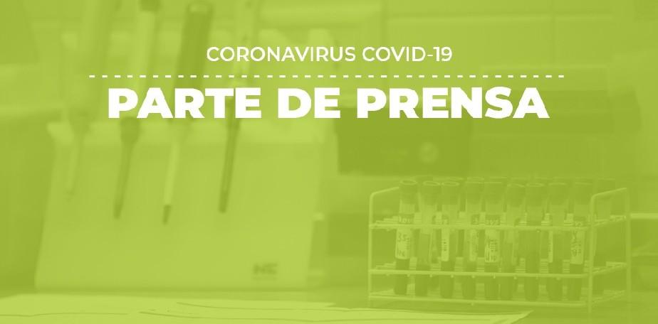 COVID-19: Parte de prensa (03/10)