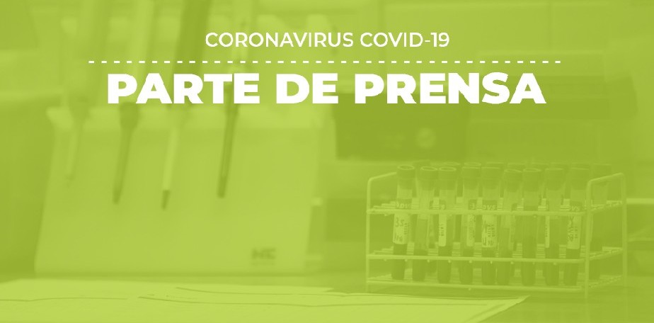 COVID-19: Parte de prensa (09/10)